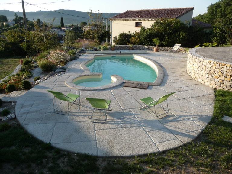 nos réalisations 123 piscines béton aubenas ruoms vallon ardèche