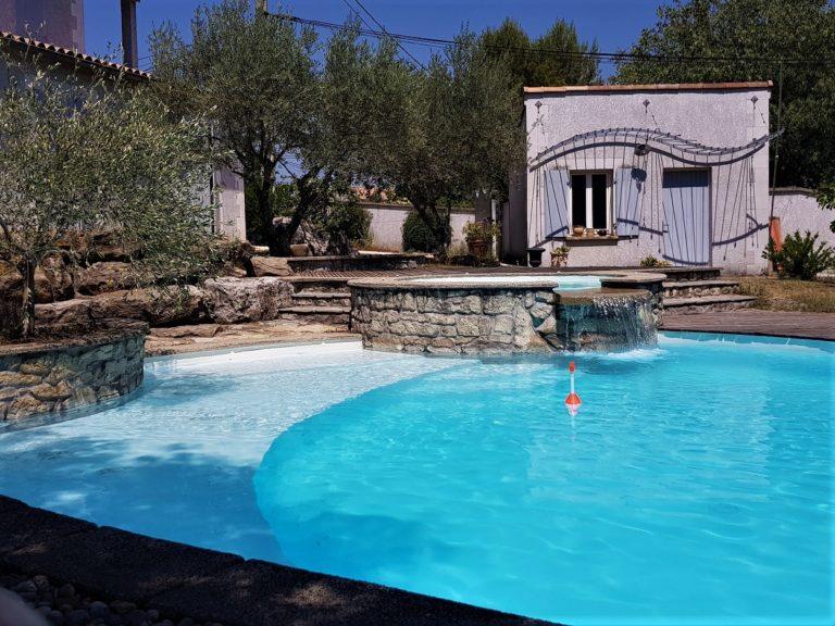 piscine béton aubenas ardèche