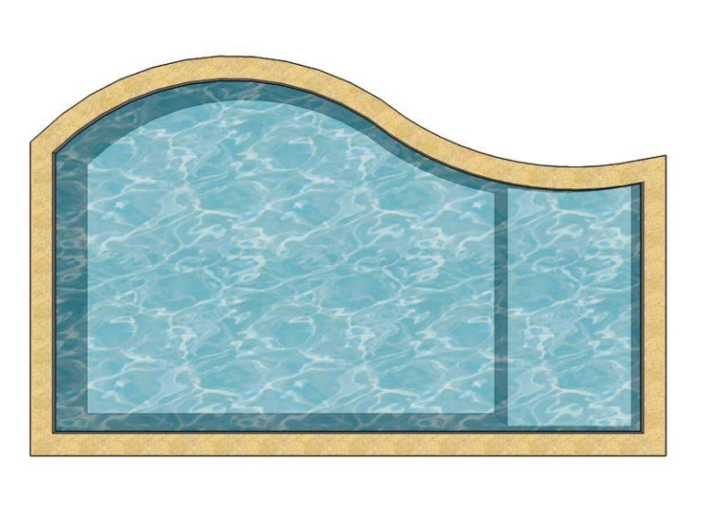 piscine modele personalisable