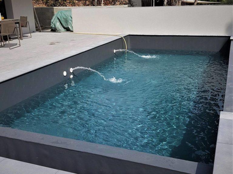 Revêtement piscine PVC armé